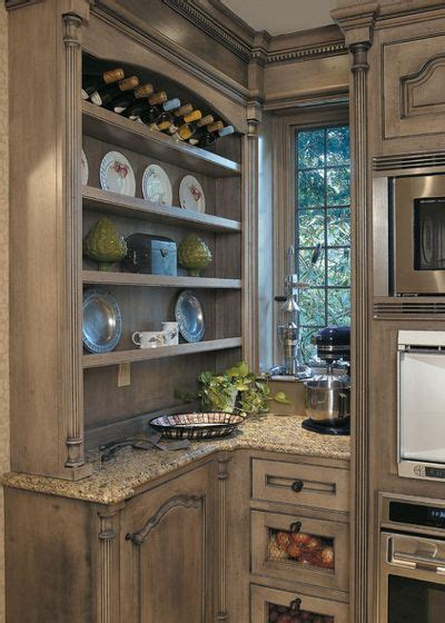 distressed gray cabinets stress less with distressed cabinets