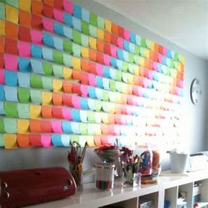 Post It Art : diy web du jour le post it art cr amalice ~ Frokenaadalensverden.com Haus und Dekorationen