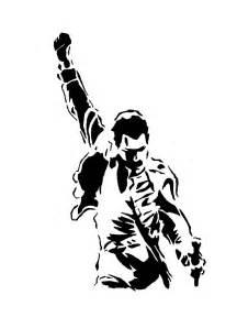 Freddy Krueger Pumpkin Stencils Free by Freddie Mercury Stencil By Wesleycandrawn On Deviantart