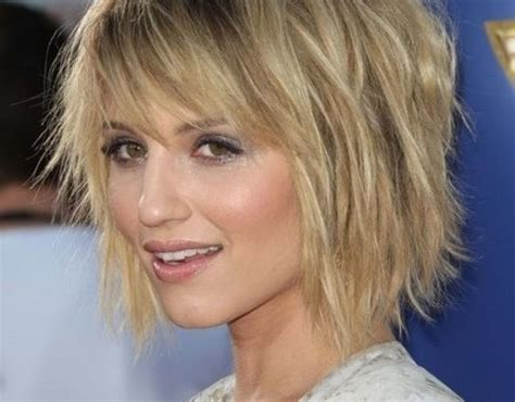 photo gallery  short shaggy hairstyles thin hair