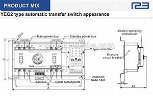 Mccb 3 Phase Generator Automatic Changeover Switch