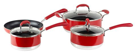 chef cookware maitre piece stick non induction gourmet ready deals cheap scratch resistant handles silicone gauge surface stay heavy multi