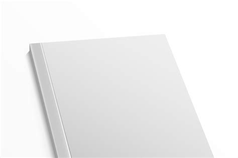 Blank magazine cover template on white background. Vector mock up By Microvector   TheHungryJPEG.com