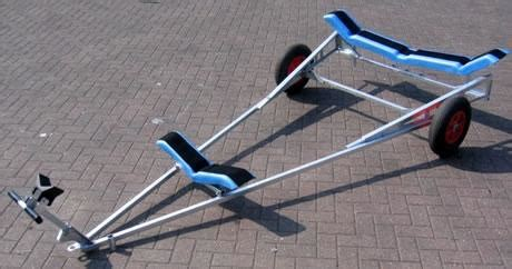 Model Boat Launching Cradle by Dinghy Launcher Dingy Sailing Dinghy Trailer