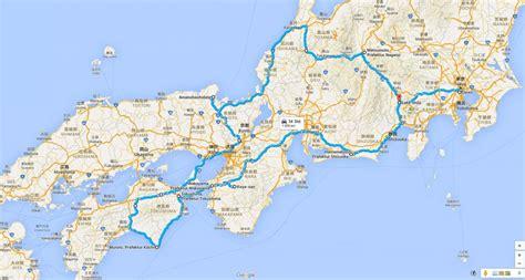 halbinsel auf honshu unsere japan reiseroute 2 200 kilometer 252 ber drei inseln