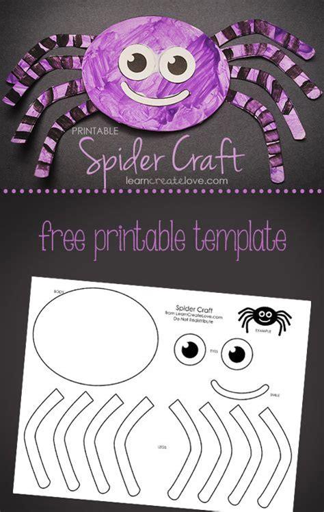 printable spider craft halloween preschool halloween