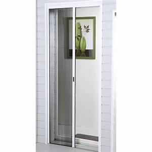 Moustiquaire Porte Fentre Plisse MOUSTIKIT 230x140 Cm