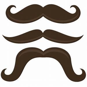 Handlebar Mustache Clip Art - ClipArt Best