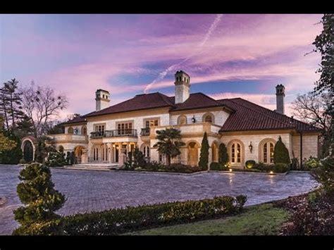 25 Million Dollar Mediterranean Estate  Luxury Mansion