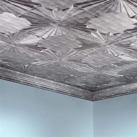fasade ceiling tile 2x4 direct apply art deco in