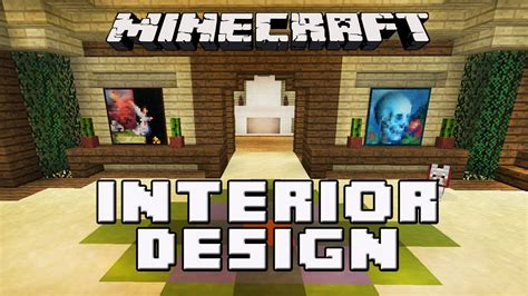 minecraft tutorial awesome interior house design tips house building project part  youtube