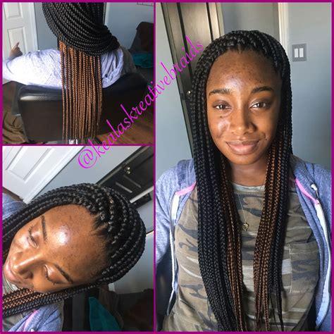 medium box braids with color small medium box braids poetic justice braids neat