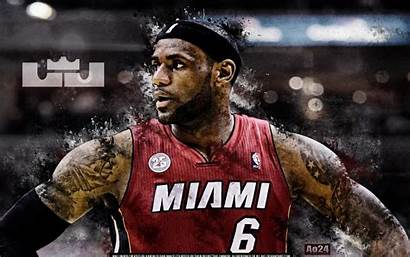 Lebron James Heat Miami Wallpapers Basketball Desktop