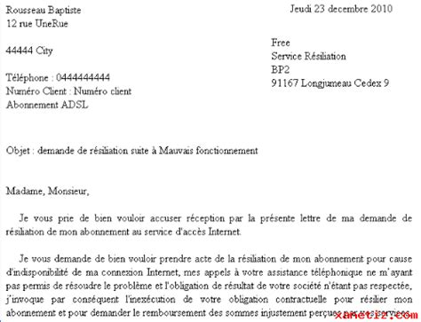 modele lettre changement conditions de paiement modele lettre resiliation fournisseur document