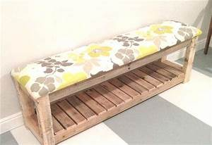 Banc Entrée Bois : fabriquer des meubles en palettes de bois ~ Teatrodelosmanantiales.com Idées de Décoration