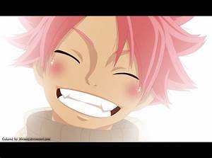 FT 435: Natsu's smile by AlexanJ on DeviantArt