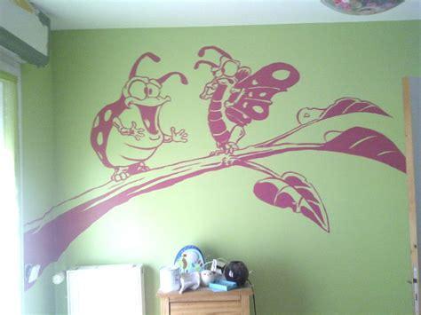 fresque murale chambre fille dessin mural chambre fille maison design sphena com