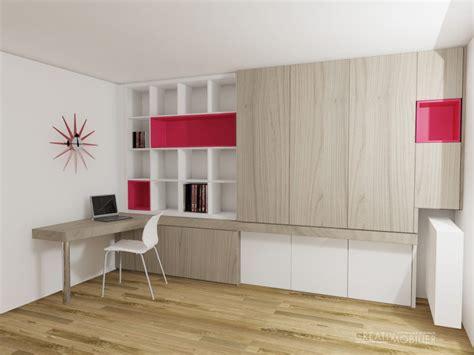 creation de bibliotheques bureaux meubles salon sur
