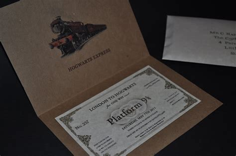 harry potter invitation serendipity design studio sneak peek the invitation design for our upcoming harry