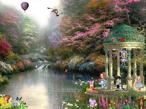 spring dream screensaver  windows  funny screensaver