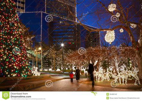 christmas lights stock photography image