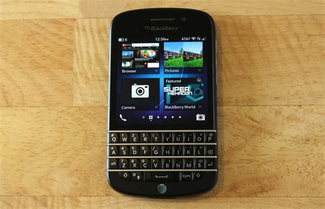 blackberry q10 review all thumbs on deck with the blackberry q10 ars