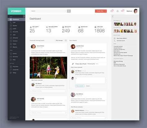 dashboard design  user dashboard ui examples