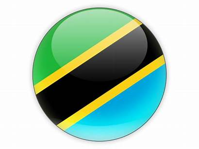 Tanzania Round Icon Flag Uganda Import Cars