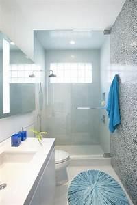 Deco Salle D Eau : la petite salle de bain moderne id es de d coration ~ Teatrodelosmanantiales.com Idées de Décoration