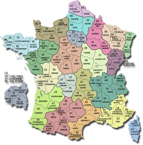 Carte De Et Region Et Departement by Carte De D 233 Partements R 233 Gions Villes Carte