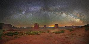 The Milky Way above Monument Valley - Astronomy Magazine ...