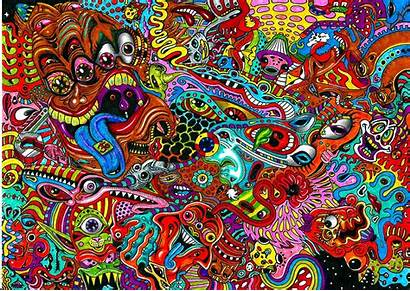 Wall Stickers Psychedelic Decal Prosportstickers
