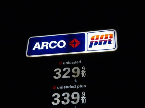 arco ampm gas station gas stations   bethany