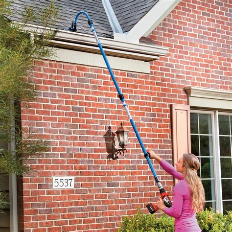 guttersweep rotary gutter cleaning system  easy