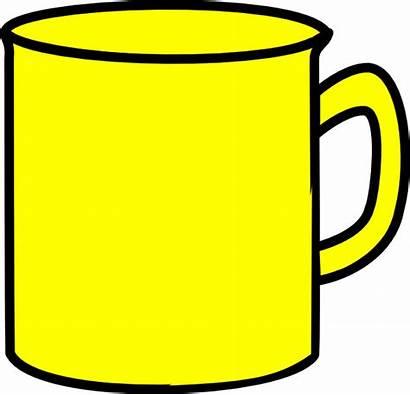 Mug Clipart Yellow Clip Clker Hdclipartall Cliparts