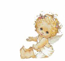 Animated gif of baby angels and free images ~ Gifmania