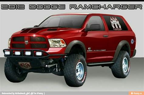 Dodge Ram Concepts by 2012 Concept Of A Dodge Ramcharger Cars Dodge