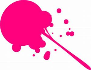 Neon Pink Splat Clip Art at Clker vector clip art