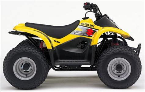 Suzuki Mini Quad 50cc Yellow Four Wheel 4