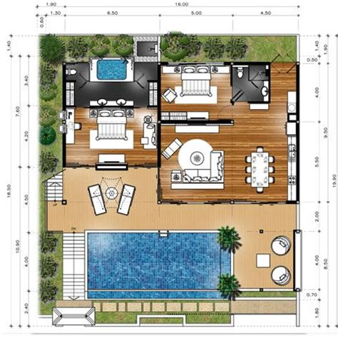 master house plans master plan villa type a floor plans