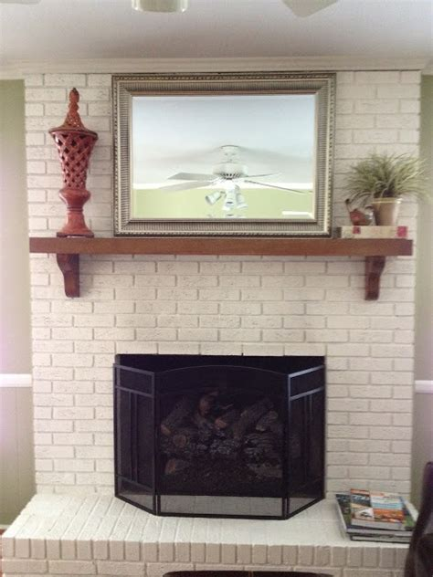 how to paint a brick fireplace 5 dramatic brick fireplace makeovers dave and davis