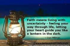 1000+ images ab... Faith And Uncertainty Quotes