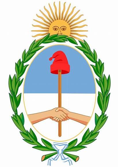Argentina Viva Arms Coat Revolucion Mayo Sol