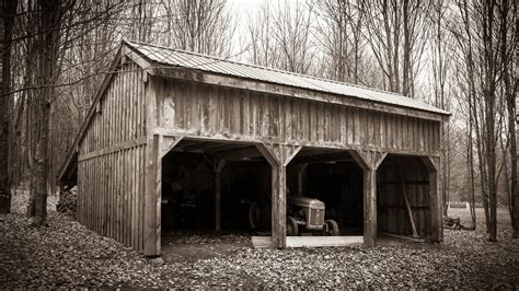what is a pole shed 4500 pole barn