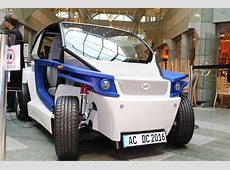 streetscooter C16 electric car 3Dprinted using a
