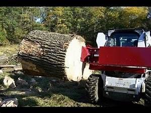 Skid Loader Log Splitter 888-706-2434