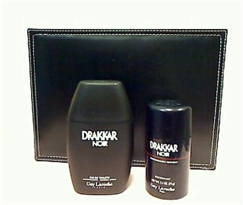 GUY Laroche Drakkar Noir 3.4 Oz Eau De Toilette Spray   2