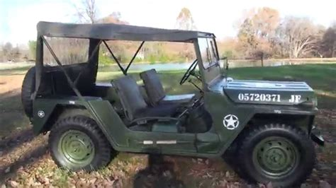 Hd Video 1967 Military Jeep M151 Army Navy Air Force A1 A2