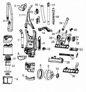 Bissell 3950 Velocity Upright Vacuum Parts