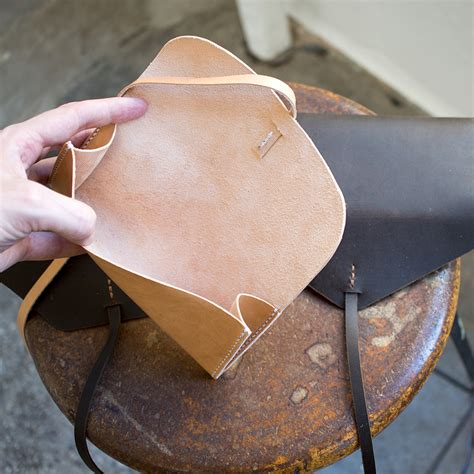 leather templates make a simple gusseted leather clutch free pdf template build along tutorial makesupply